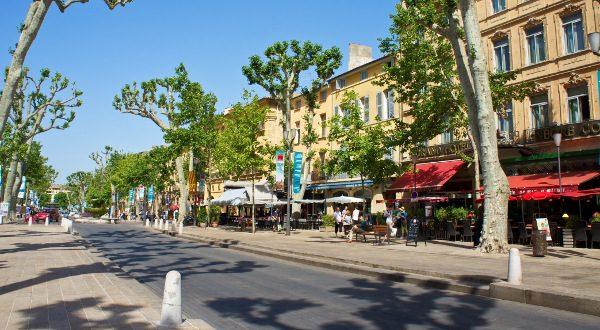 Aix-en-Provence Cours Mirabeau