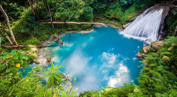 BlueHoleWaterfall Jamaique