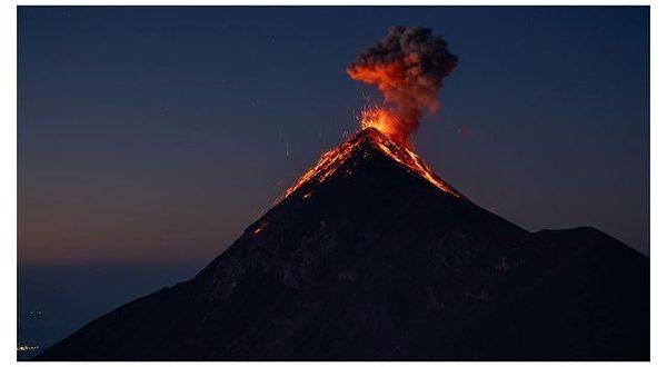 Kévin Clerc El volcan de Fuego
