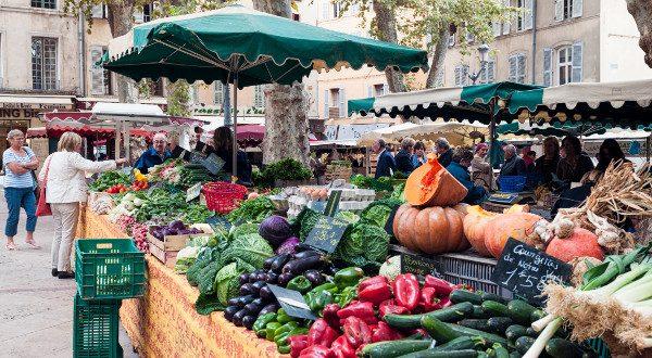 marché de Aix-en-provence iStock