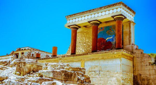 Knossos Palace iStock