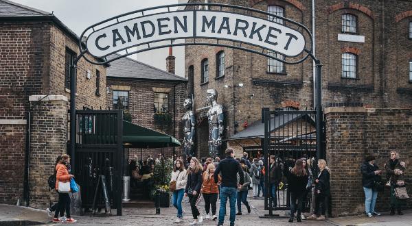 Camden Market Londres iStock