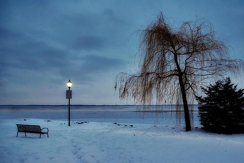 Saint Laurent en hiver