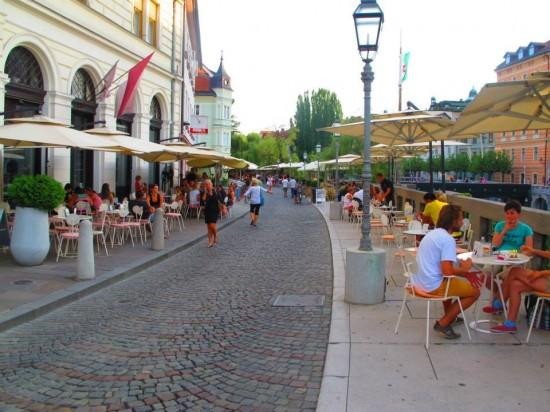 balade à Ljubljana