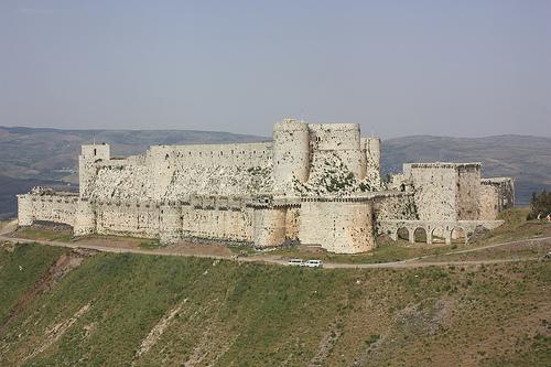 Le site de Krak en Syrie